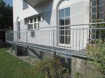 Stahl Geländer